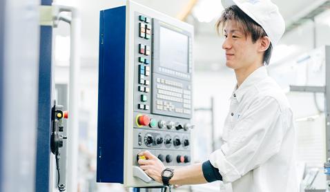 機械加工部門 | 新卒・第二新卒